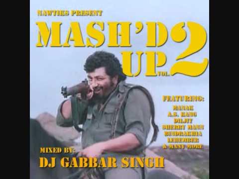 DJ Gabbar Singh - Mash'd Up Vol 2 - Ladla