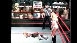 SvR 2008 GamePlay Torrie Wilson vs. Kelly Kelly