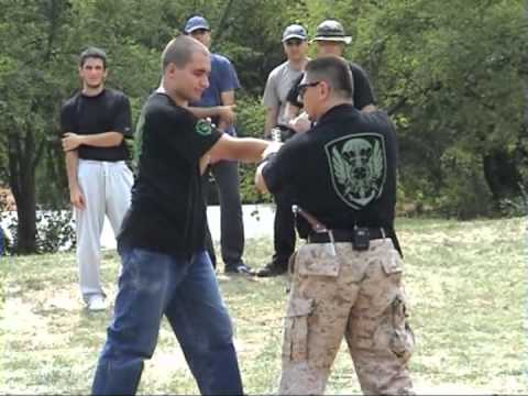 Specwog Knife Fighting seminar