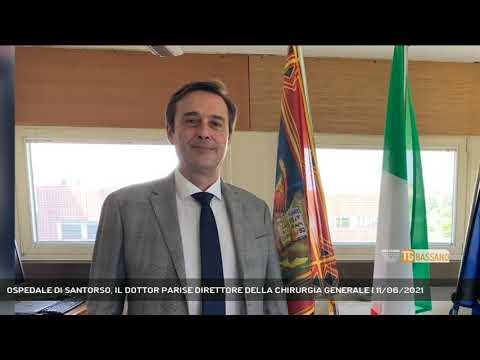 OSPEDALE DI SANTORSO, IL DOTTOR PARISE DIRETTORE DELLA CHIRURGIA GENERALE | 11/06/2021