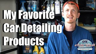 My Favorite Car Detailing Products