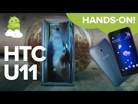 HTC U11 preview: The phone you can SQUEEZE!