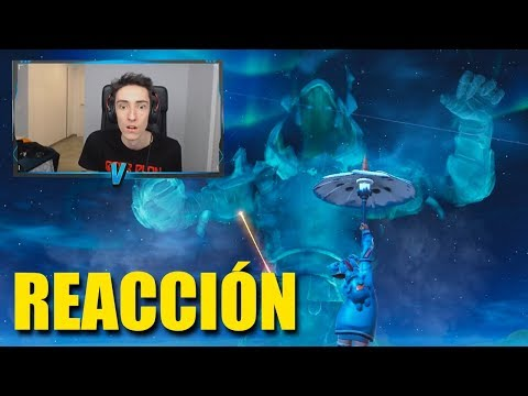 REACCIONANDO al *PEOR EVENTO* de FORTNITE - Vicens