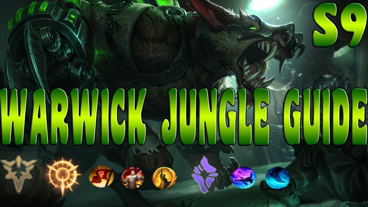 League Of Legends Warwick Guide For Beginners Warwick Build Warwick Jungle Warwick Rework Ranked Youtube