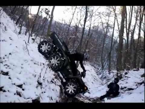 Polaris 6x6 Big Boss no limit vertical downhill QuadSquad