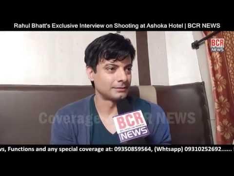 Rahul Bhatt Exclusive Interview at Ashoka Hotel Delhi | BCR NEWS