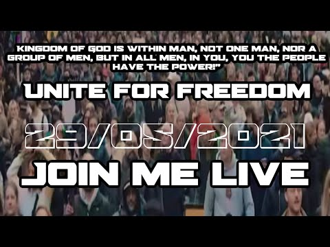 ?#LIVE  #UNITEFORFREEDOM rally 1 million + THE BIG ONE | Live London..