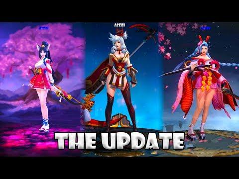 Mobile Legends VS Heroes Arena VS Arena of Valor ⚡️THE UPDATE⚡️