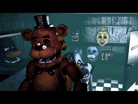 La verdadera historia de five nights at Freddy´s (los animatronicos)