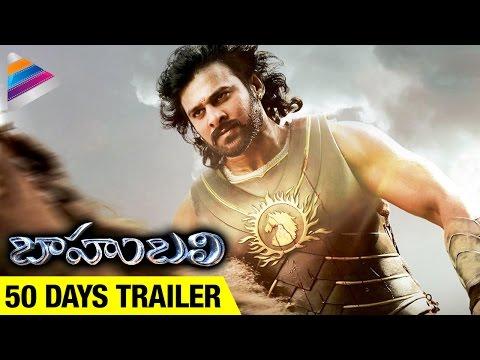 Baahubali 50 Days Trailer   Prabhas   Rana   Anushka   Tamanna   SS Rajamouli   Telugu Filmnagar