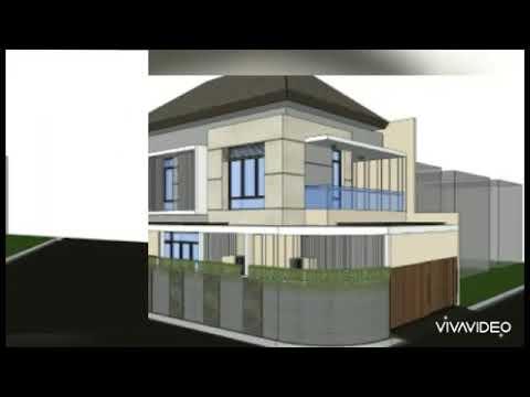 inspirasi rumah minimalis modern 2 lantai terbaru. #