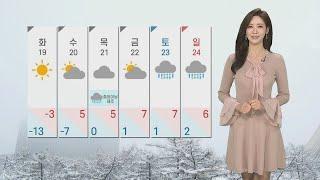 [날씨] 내일까지 최고 15cm 큰눈…서울 대설예비특보 / 연합뉴스TV (YonhapnewsTV)