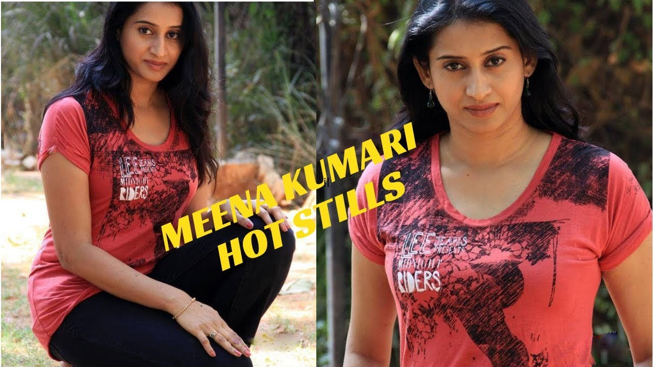 Telugu Actress Meena Kumari Hot Stills Youtube