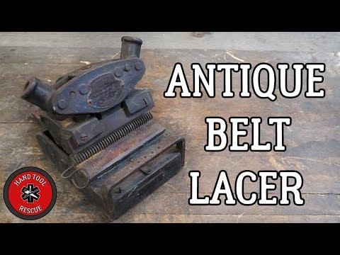 Antique Belt Lacer [Restoration]