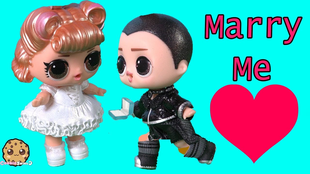 Download Will You Marry Me ? Supreme Bff LOL Surprise Wedding Proposal Fail - Toy Video