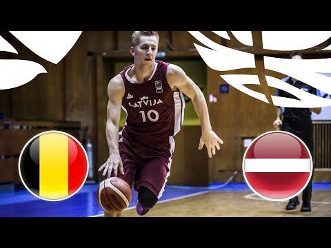 Belgium v Latvia - Full Game - FIBA U20 European Championship Division B 2018