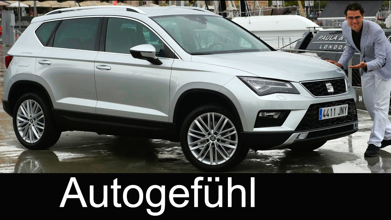 seat ateca full review test driven all new suv neu vw tiguan sister youtube. Black Bedroom Furniture Sets. Home Design Ideas