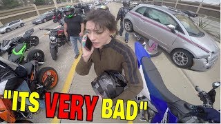 SOMEBODY CALL 911 NOW! (SBK RIDE 2018)