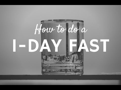 How to Do a 1-Day Fast