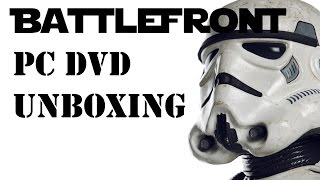 Star Wars Battlefront (PC DVD) Standard Physical Copy Unboxing
