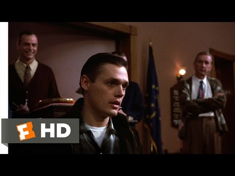 Hoosiers (6/12) Movie CLIP - I Play, Coach Stays (1986) HD