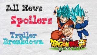 Dragon Ball Super : Broly - All News, Spoilers and Trailer Breakdown ft. Vegitard (Hindi)