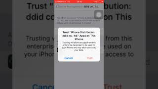 how To Verify Apps On IPhone IOS11,10,9
