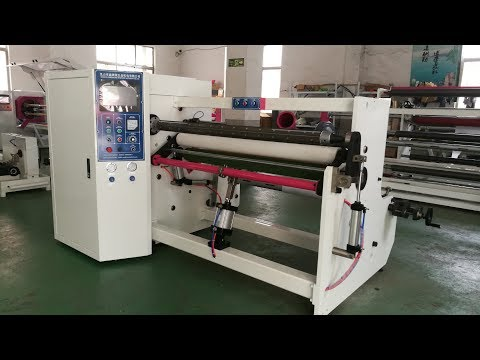 PET Special type Silicone Tape Rewinding Machine