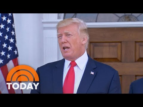 Donald Trump Doubles Down On 'Fire And Fury,' But James Mattis Talks North Korea Diplomacy | TODAY