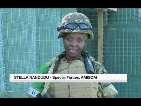 UPDF Women on the Frontline in Somalia