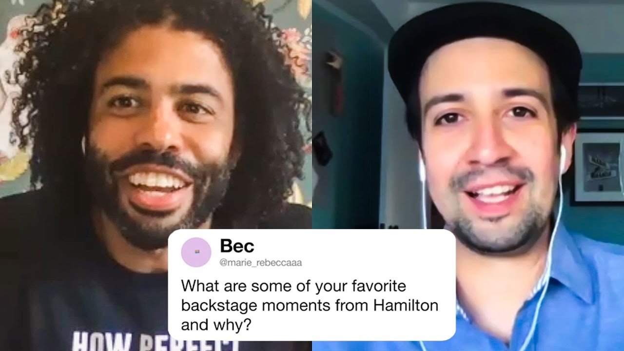 The Hamilton Cast Answers Hamilton Questions From Twitter | Tech Support