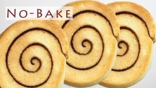No-bake Pinwheel Cookies 노오븐 롤쿠키 만들기 - 한글자막