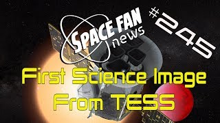 TESS First Light: The Search for Exoplanets Has Begun!