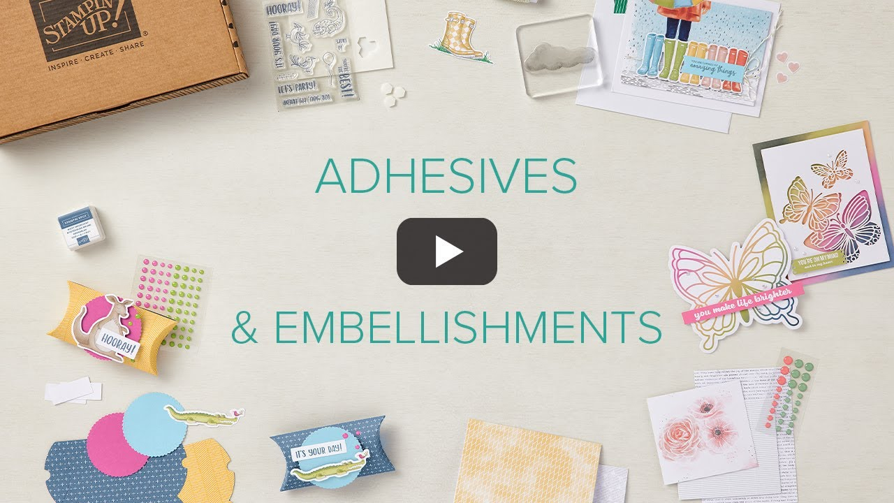 Adhesives & Embellishments