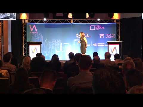 Lara Hodgson presents at Venture Atlanta 2018