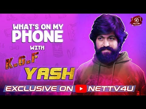 KGF Movie Yash video Interview | What's On My Phone | Vishal Film Factory