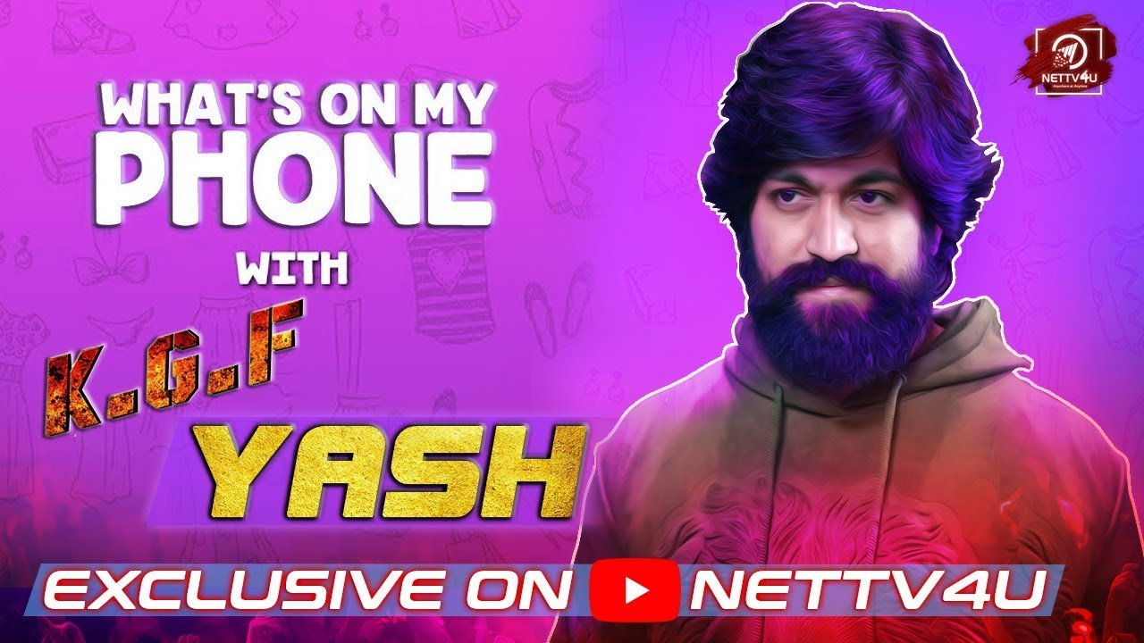 1218 Mb Kgf Movie Yash Video Interview Whats On My Phone