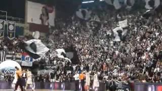Partizan Belgrade fans on Basketball