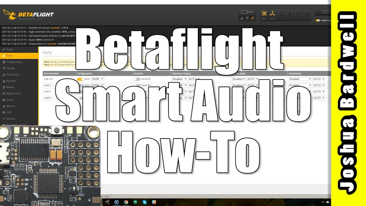 Betaflight Smartaudio Change Vtx Channel And Power Remotely Youtube Wiring Diagram