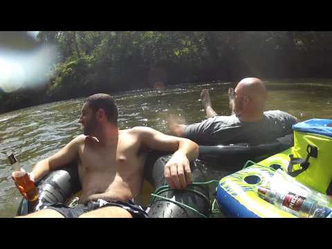 Tubing down the Dan River - Part 01