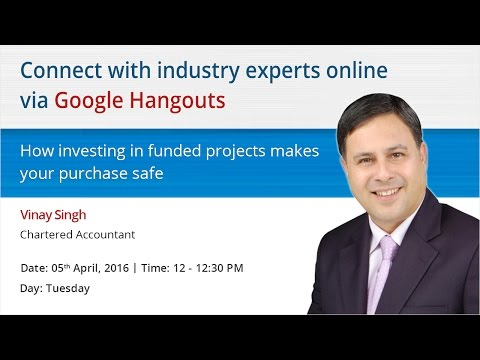 "Hangout with Vinay Singh, Chartered Accountant to know ""How investing in funded projects makes yo..."