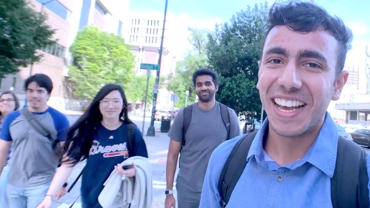 My Last Day of College 😪| Indian Student in America - YouTube