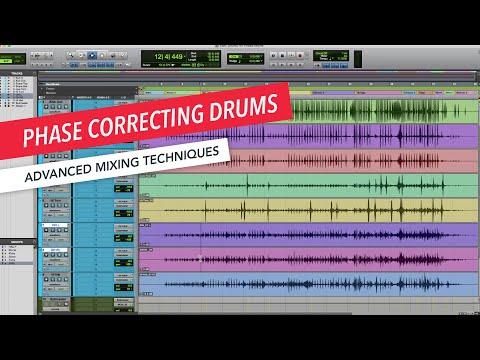 Advanced Mixing Techniques: Phase Correcting Drums | Music Production | Berklee Online