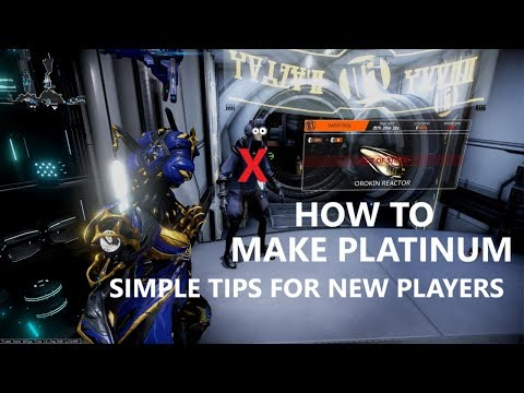 Warframe: How To EARN Platinum... The Basics