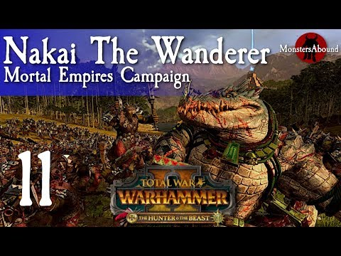 Total War Warhammer 2 Mortal Empires Nakai The Wanderer 11 Suscríbete para descargar stupidly op nakai the wanderer. trshow