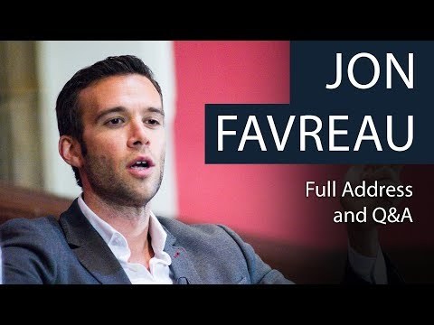 Jon Favreau  Life as Obama's Speechwriter  Full Address and Q&A