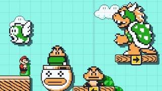 SUPER MARIO MAKER - Gameplay e Tutorial / Guia de Fases!