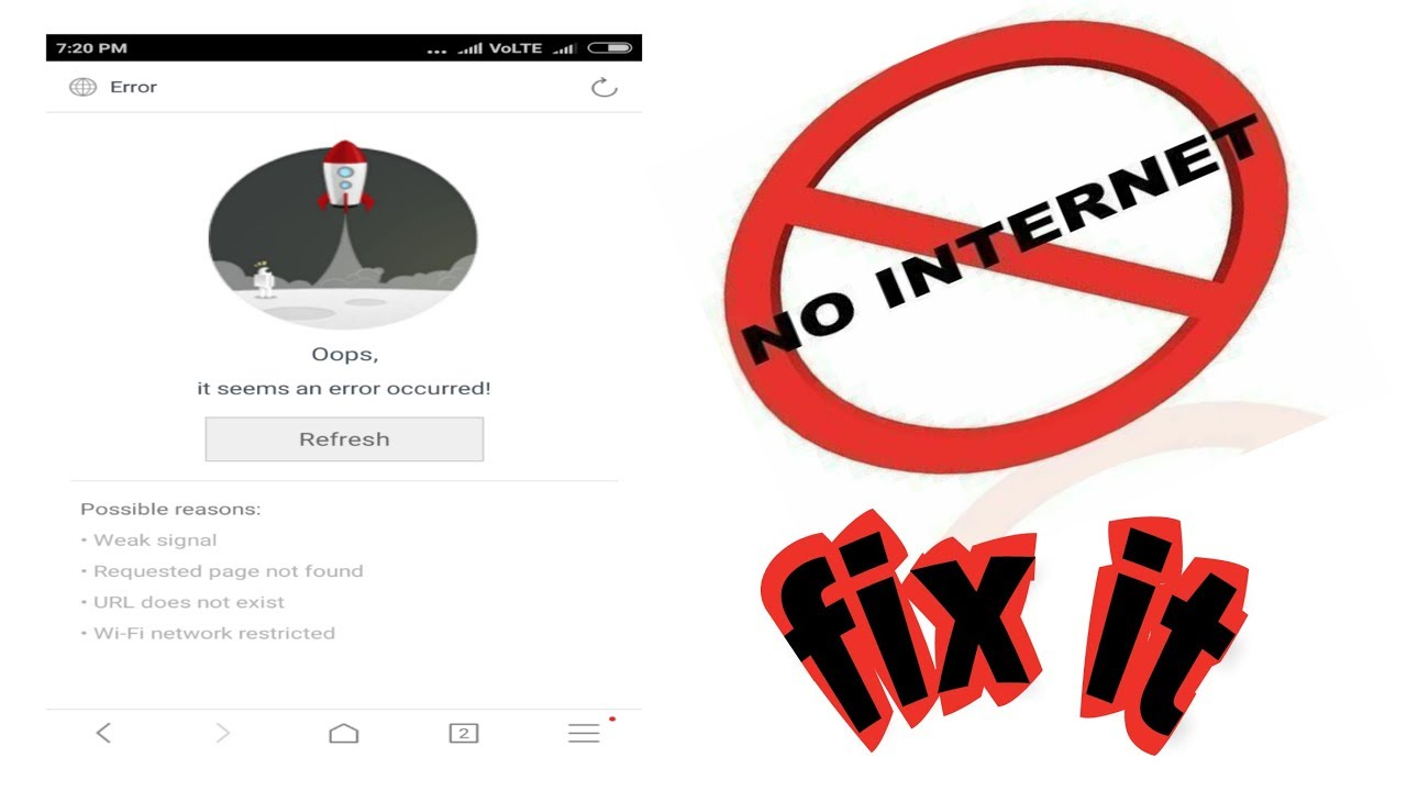 How to fix internet connection problem in Android phone ...