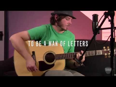 Garrett Vazquez - To be a man of letters
