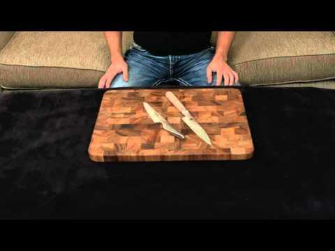 Miyabi Birchwood vs Global — Utility Knife.